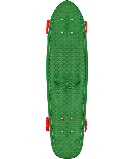 "Diamond Supply Co Diamond Life Green 24""  Cruiser Complete"