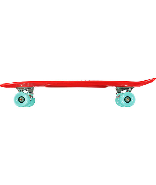 "Diamond Supply Co Diamond Life Red 24""  Cruiser Complete"
