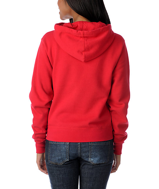Diamond Supply Co Diamond Life Red Pullover Hoodie