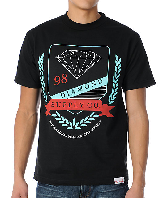 Diamond Supply Co Diamond Society Black T-Shirt