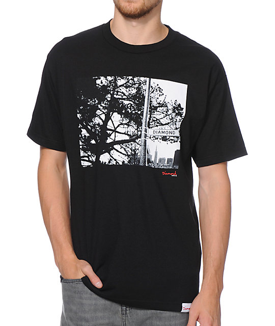 Diamond Supply Co Diamond Street Black T-Shirt