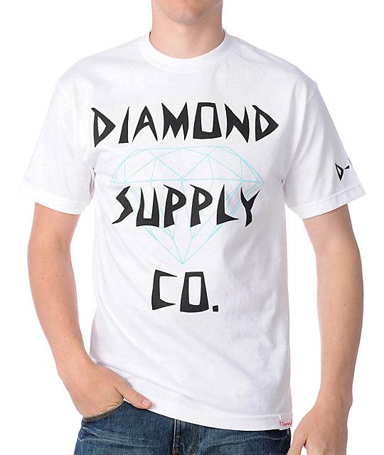 Diamond Supply Co Diamond White T-Shirt