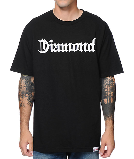 Diamond Supply Co Diamond4Life Black T-Shirt