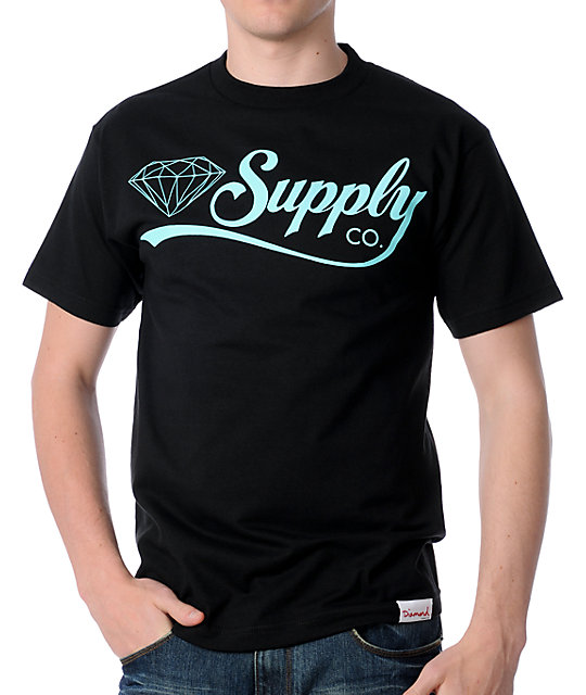 Diamond Supply Co Diamondaire Black T-Shirt
