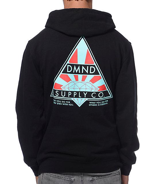 Diamond Supply Co Eternal Black Pullover Hoodie