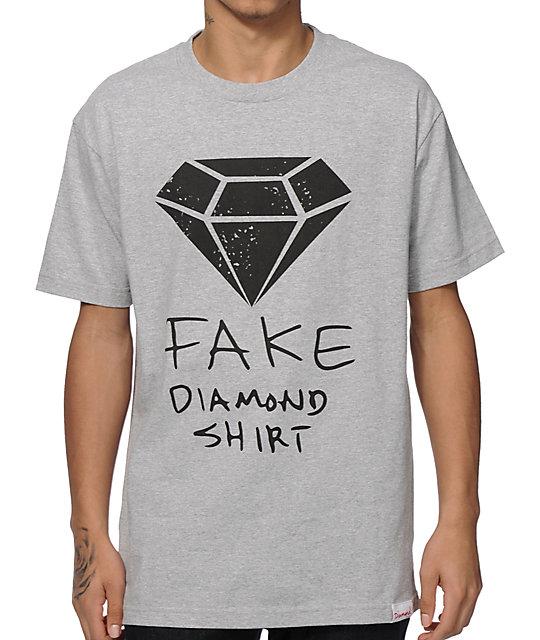 diamond supply co fake diamond t shirt at zumiez pdp