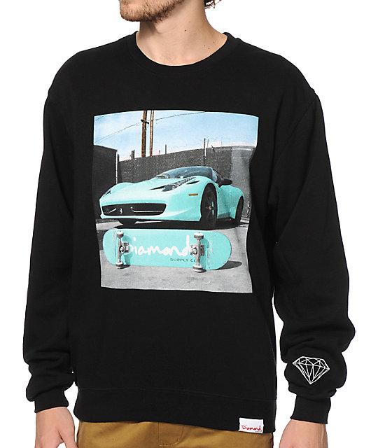 Diamond Supply Co Ferrari Crew Neck Sweatshirt - photo#45