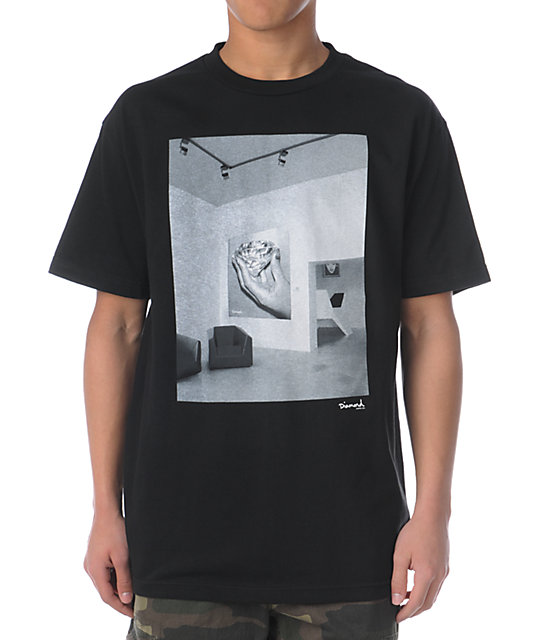 Diamond Supply Co Gallery Black T-Shirt