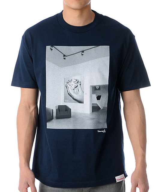 Diamond Supply Co Gallery Blue T-Shirt