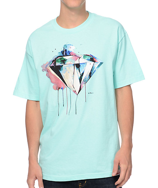 Diamond Supply Co I Art You Mint T-Shirt