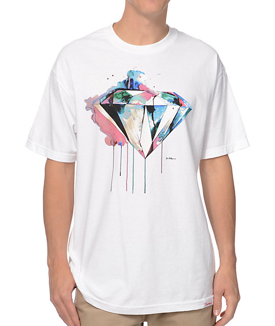 Diamond Supply Co I Art You White T-Shirt