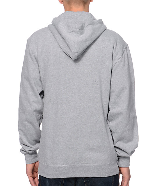 Diamond Supply Co I Shine You Shine Grey & Red Pullover Hoodie