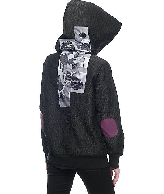 Diamond Supply Co Juliet Hooded Black Bomber Jacket | Zumiez