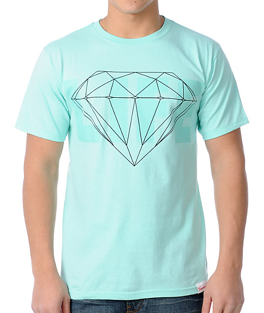 Diamond Supply Co Life Diamond Blue T-Shirt