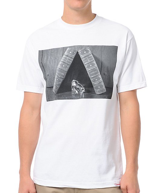 Diamond Supply Co Life and Times White T-Shirt