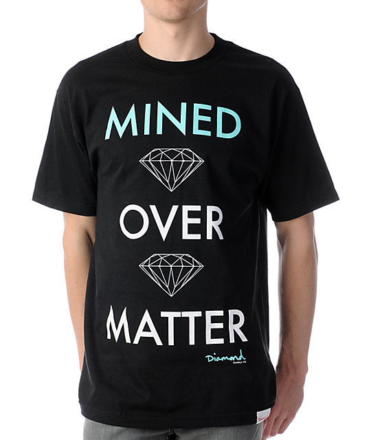 Diamond Supply Co Mind Over Matter Black T-Shirt