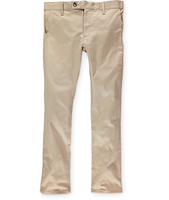 Diamond Supply Co Mined Slim Fit Chino Pants