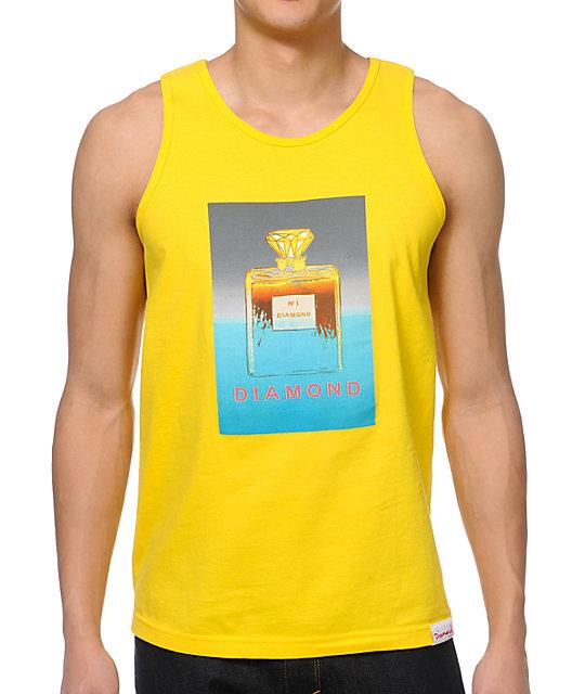Diamond Supply Co No.1 Diamond Yellow Tank Top