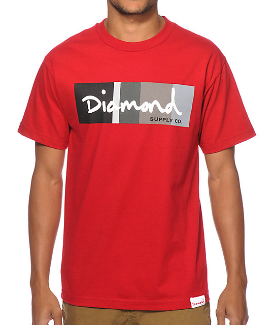 Diamond Supply Co OG Script Colors T-Shirt
