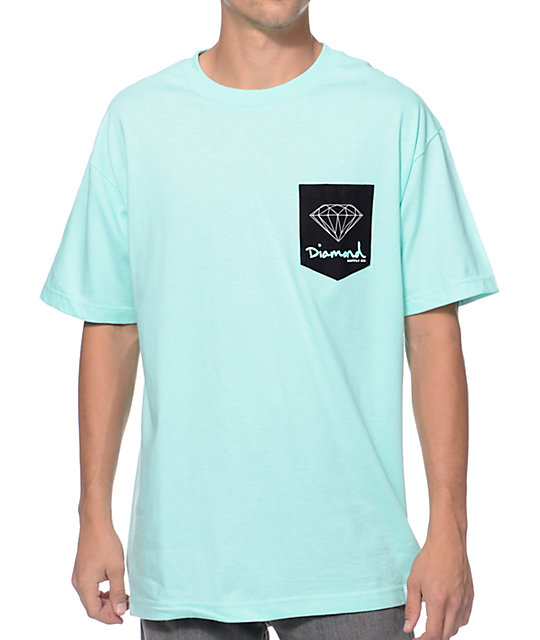 Diamond supply co og sign diamond blue pocket t shirt zumiez diamond supply co og sign diamond blue pocket t shirt pronofoot35fo Gallery