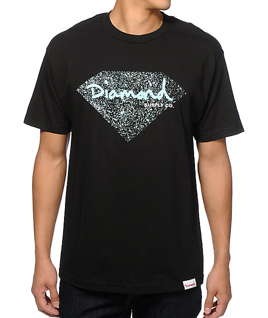 Diamond Supply Co OG Splatter T-Shirt