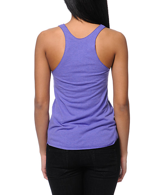 Diamond Supply Co Orchid Purple Tank Top