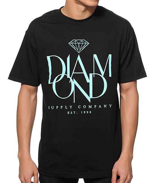 Diamond supply co parisian t shirt zumiez for Wholesale diamond supply co shirts