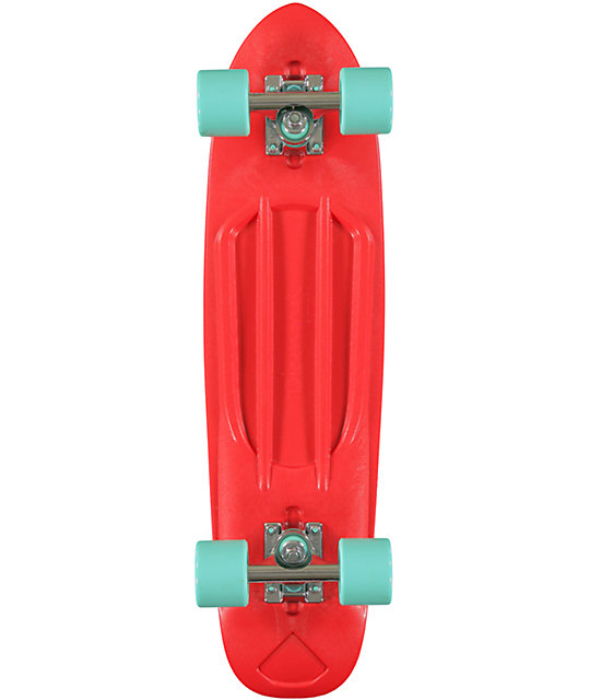 "Diamond Supply Co Red  24""  Cruiser Complete Skateboard"