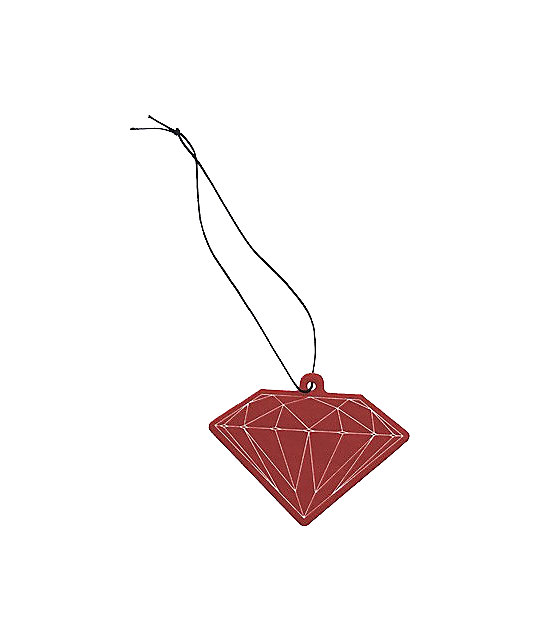Diamond Supply Co Red Air Freshener