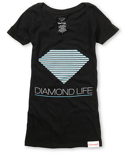 Diamond Supply Co Retro Black T-Shirt