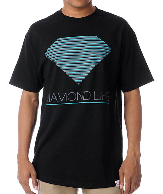 Diamond Supply Co Retro Black T-Shirt