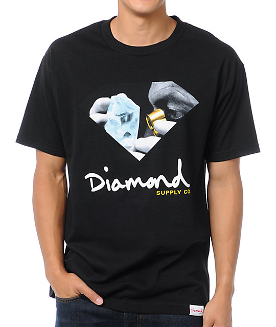 Diamond Supply Co Scope Black T-Shirt