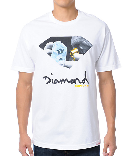 Diamond Supply Co Scope White T-Shirt