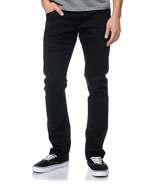 Diamond Supply Co Skate Life Black Skinny Jeans