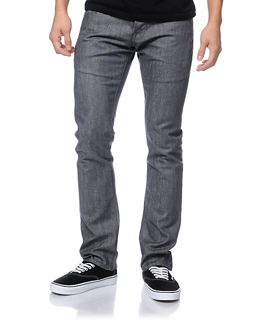 Diamond Supply Co Skate Life Grey Skinny Jeans