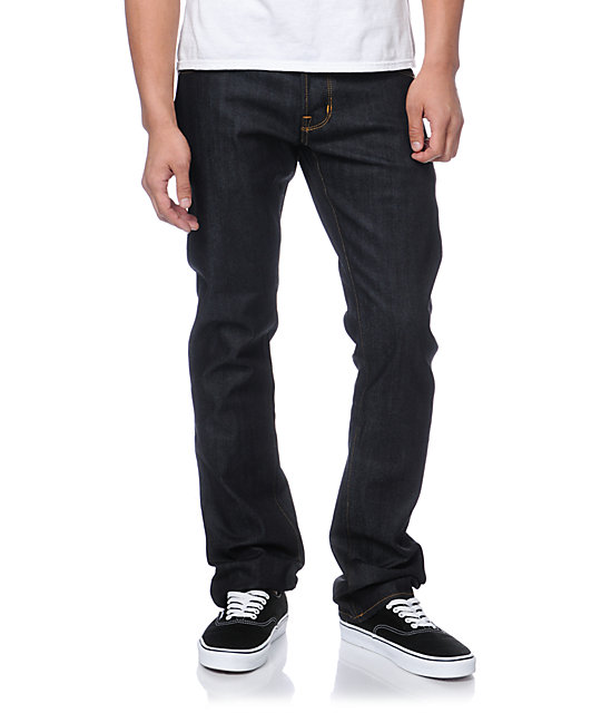 Diamond Supply Co Skate Life Indigo Raw Skinny Jeans