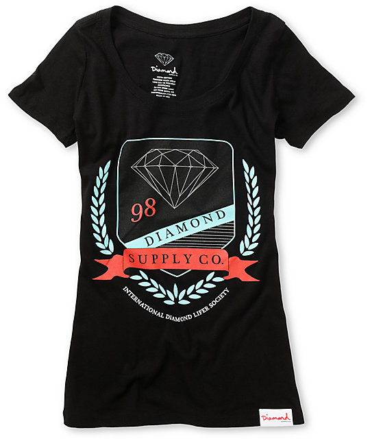 Diamond Supply Co Society Black T-Shirt