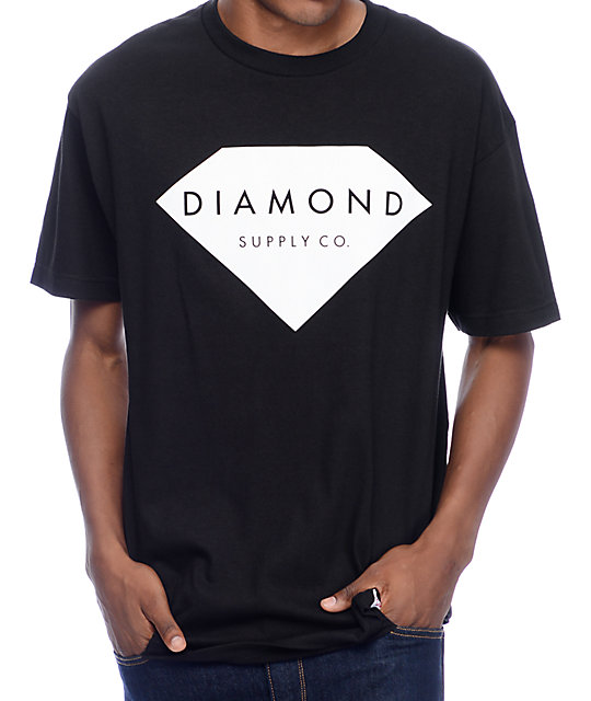 Supply Co Solid Stone Black T-Shirt