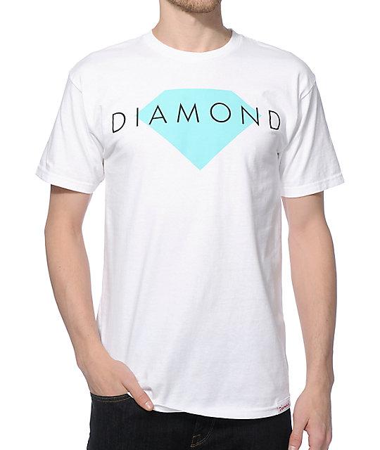 Diamond supply co solid t shirt at zumiez pdp for Wholesale diamond supply co shirts