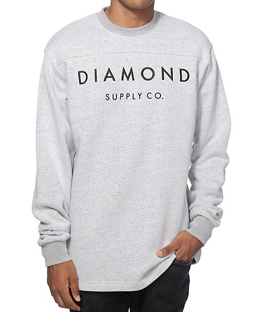 Diamond Supply Co Stone Cut Crew Neck Sweatshirt at Zumiez ... - photo#31