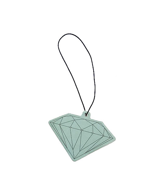 Diamond Supply Co Teal Air Freshener