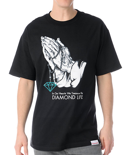 Diamond Supply Co Treasure Black T-Shirt