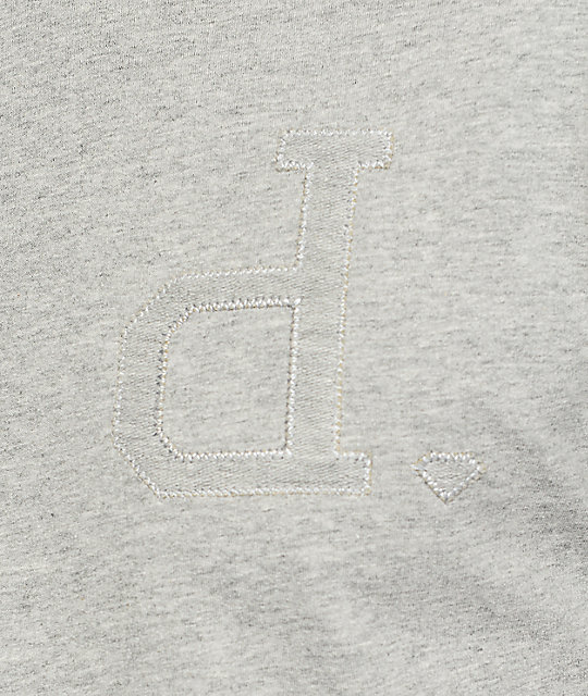 Diamond Supply Co Un-Polo C&S Heather Grey T-Shirt