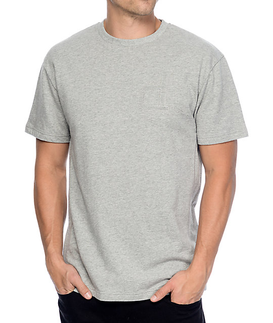 Diamond Supply Co Un Polo C&S Heather Grey T-Shirt