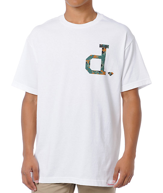 Diamond Supply Co Un-Polo Camo White T-Shirt
