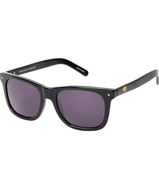 Diamond Supply Co Vermont Black Sunglasses