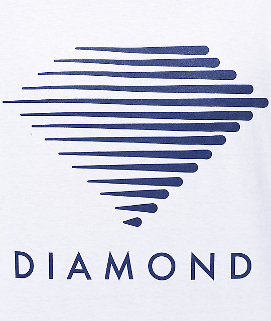 Diamond Supply Co Westwind White T-Shirt