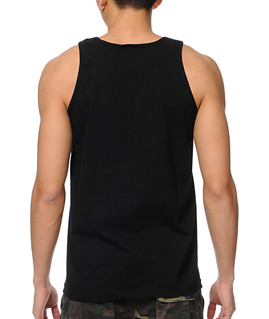 Diamond Supply Co White Space DMND Black Tank Top