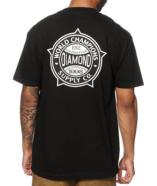 Diamond Supply Co World Champs T-Shirt