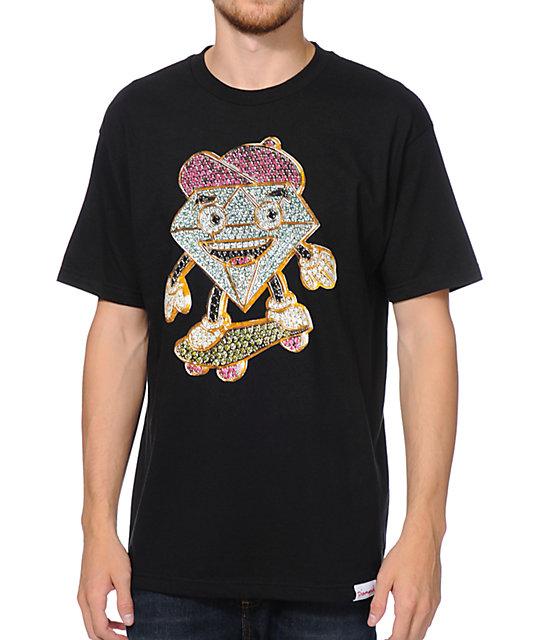 Diamond Supply Co X Ben Baller Lil Cutty Black T-Shirt